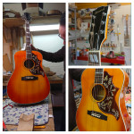 Recently I purchased a pickguard for a project I was building. My Hummingbird is ready and the pickguard looks like a million bucks!! Thanks a lot for your awesome work.  Robin B. - Netherlands